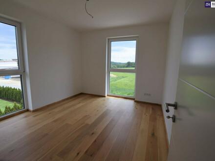 EINFACH WOW: Stilvoller Erstbezug. 3-Zimmer. Hochmodern. Grünblick + Balkon + Carport