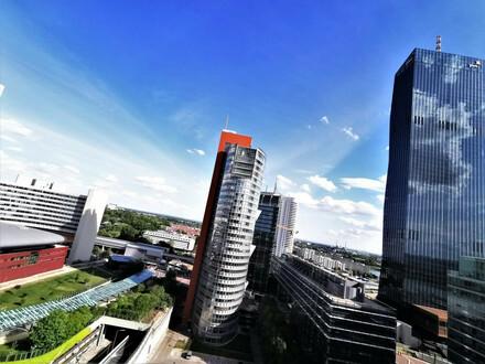 MODERN LIVING in DONAUCITY: Neubau 2-Zimmer-Wohnung mit Loggia und neuwertiger Küche !