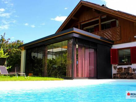 Renoviertes Einfamilienhaus mit Pool