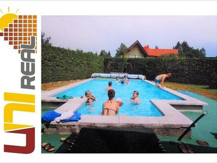 - UNI-Real - Sehr großes Wohn- und Geschäftshaus mit tollem Pool und Garten nahe Gmünd.