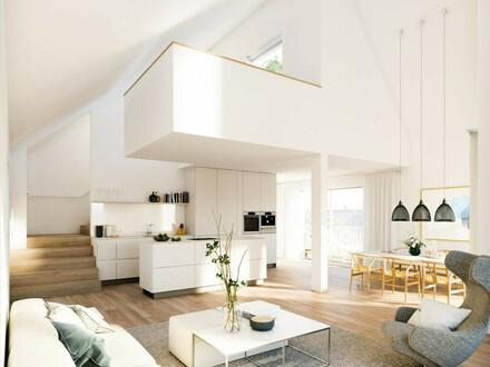 Salzburg/Leopoldskron: Exklusives Penthouse mit rd. sechs Meter Raumhöhe