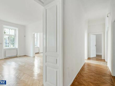 Einzigartig: 272 m² Traumaltbauwohnung mit Terrasse //Hauptwohnung (183 m²) und Einliegerwohnung/Büro (42 m2), Terrassengarten…