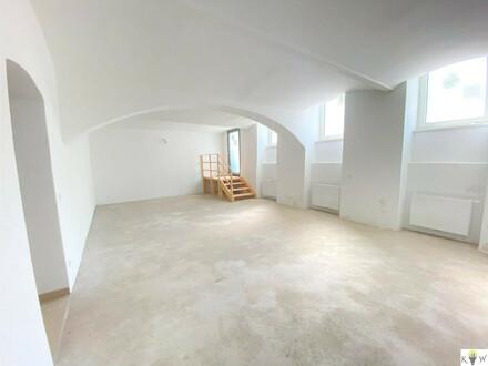 Neu saniertes Geschäftslokal und 2 Dachterrassen zur Mitbenützung *Erstbezug* !