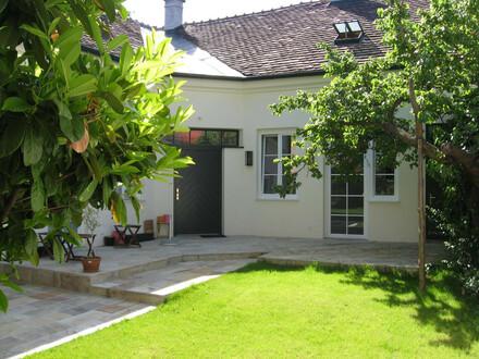 PRIVAT Baden zentrale Lage , Terrasse ins Grüne, Garten Mitbenutzung