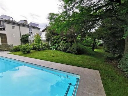 * Außergewöhnliches Architektenhaus mit Pool und Wintergarten Nähe Klagenfurt! *