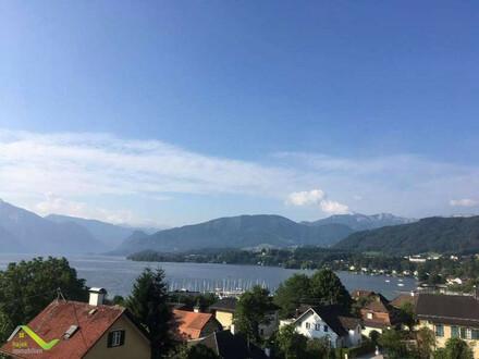 124m² höchste Wohnqualität mit grandiosen Blick auf Traunsee und Traunstein mit 3 Balkonen 1 Terrasse und Tiefgarage