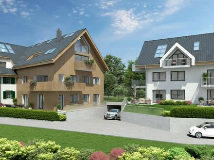 SBG/Altliefering: Neubau-Erstbezug/ Penthouse-Wohnung mit Dachterrasse+ Balkon + Galerie + 1 TG+ 1 Carport