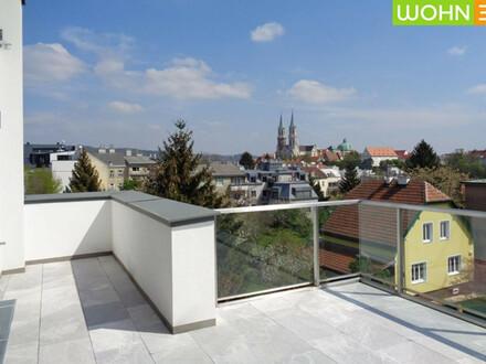 LUXUS FÜR GENIEßER - Terrassenwohnung mit Stiftsblick