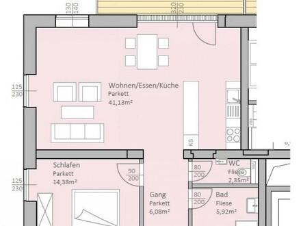 Perfekt aufgeteilte, neue Seeblick-Wohnung mit 79 m² Wohnfläche und 17 m² Terrasse am Klopeiner See, Top 9, 2.OG