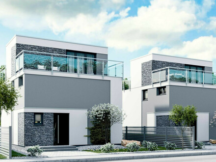Alles inklusive - Stilvolles Doppelhaus in Baden inkl. Grundstück