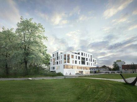 Neubauprojekt - Am Schlosspark Traun - Flexible Geschäfts-/Büroeinheiten zum Kaufen (zB Büro mit 345,70m²)