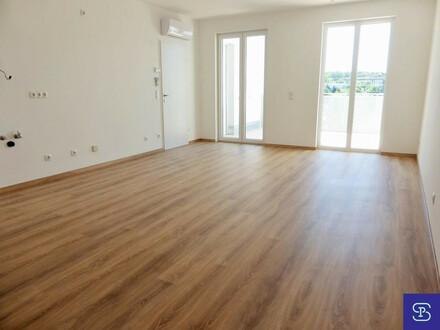 Klimatisierter 82m² Neubau + 12,4m² Süd-Terrasse mit 3 Zimmern!
