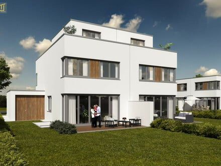 Hochwertiges Architekten-Doppelhaus mit Urlaubsflair am Föhrensee - mit optionalem Terrassengeschoß