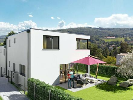 MEIN LEBENS(T)RAUM: Moderne Doppelhaushälfte in idyllischer Grünruhelage