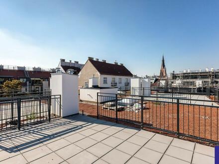 Goldegg-Gardens: 74m² Neubau + 65m² Terrassen Nähe Belverdere!