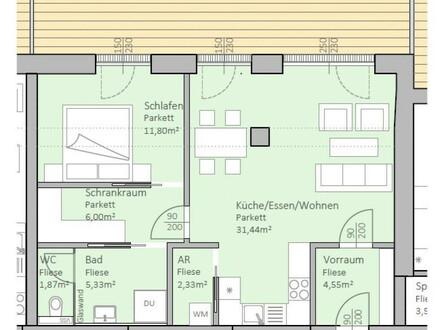 Hochwertige, neue Seeblick-Wohnung mit 63 m² Wohnfläche und 30 m² Terrasse am Klopeiner See, Top 5, 1.OG