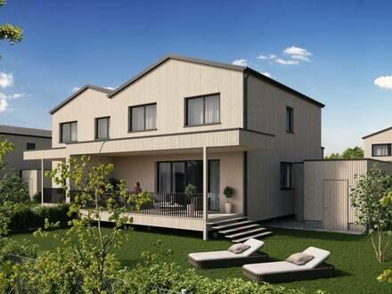 HOLZBAU CHALET SCHLOSSPARK H2 - nachhaltiges Landleben und Homeoffice unter einem Dach - Classic