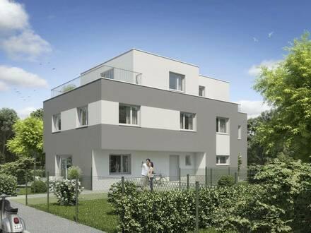 Traumhaftes Haus als Neubau Erstbezug inkl privater Gartenfläche, Terrassen und Balkon in U1 Leopoldau Gehweite