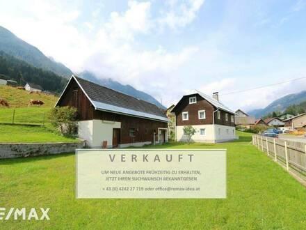 """Einfamilienhaus in Hüttendorf """"modern trifft Bauernhaus"""""""