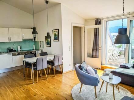 Himmelreich: 2-Zimmer-Wohnung im DG