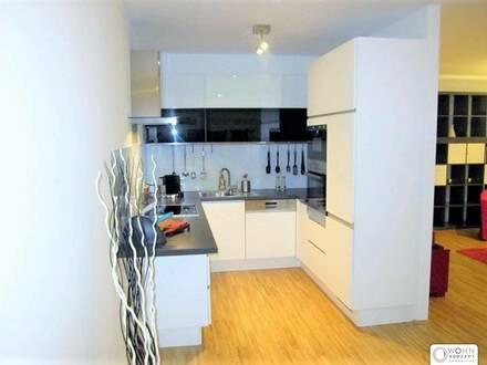 Wunderschöne und ruhige 3-Zimmer Neubauwohnung Nähe Mariahilferstraße mit LOGGIA und GARAGENPLATZ