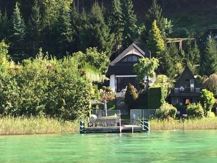 Wörthersee Reifnitz - Charmantes Seehaus in Miete |Lake Wörthersee Reifnitz - Lovely beachfront villa for rent