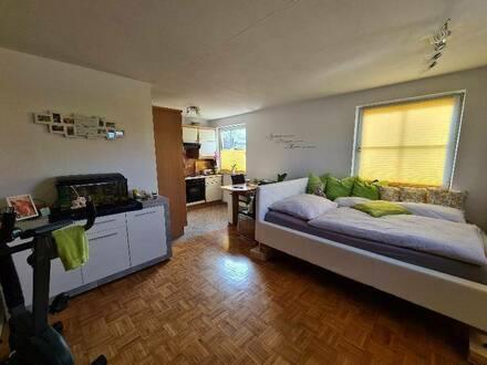 Schöne 1-Zimmer-Wohnung mit Gartennutzung