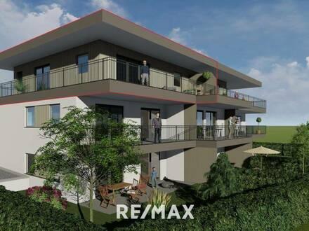 2-Zi-Neubau-Penthouse in Oberlangkampfen zu verkaufen