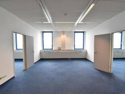 Perfekt angebunden - Bürooase - Parkflächen - Fancoil
