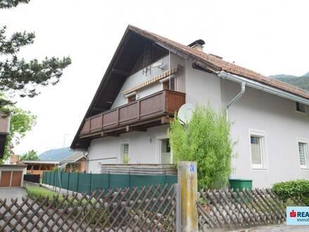 3-Zimmer-Wohnung mit großem Garten und Schupfen