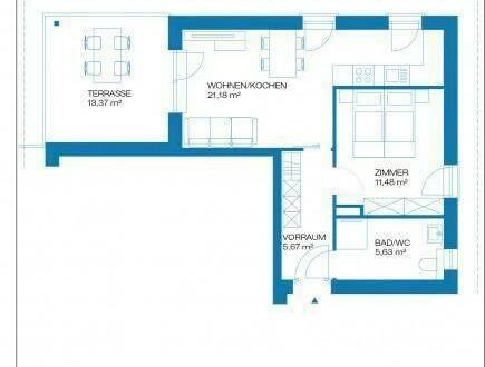 Raaba - Erstbezug - 44m² - 2 Zimmer Wohnung - großer Balkon - inkl. Parkplatz
