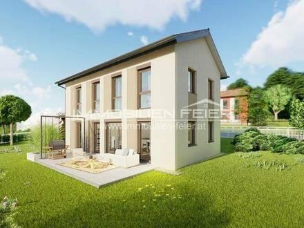 Erstbezug! Sonnenlage im Grünen! Einfamilienhaus in hochwertiger Bauweise