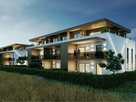 NATURNAH LEBEN: Smart geplante Neubau-Wohnung in SONNIGER RUHELAGE