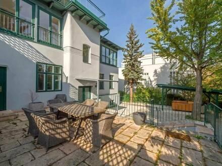 Klassik trifft Moderne - Stilvilla mit modernem Dachaufbau und 1.100 m² Traumgarten