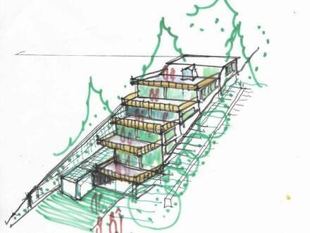 Sonnige 2 Zimmer- Neubau - provisionsfreie Eigentumswohnung mit großer Dachterrasse in Hainfeld