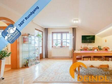 Großzügige 3-Zimmer-Wohnung mit Balkon & 2 Carport-Stellplätzen in Munderfing