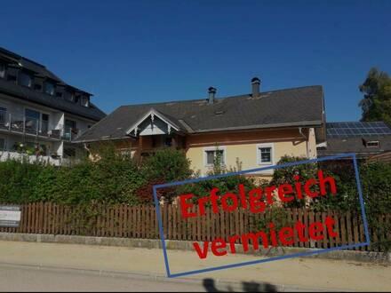 VERMIETET! Wohnen und arbeiten unter einem Dach - Großes Haus mit Garten zu vermieten