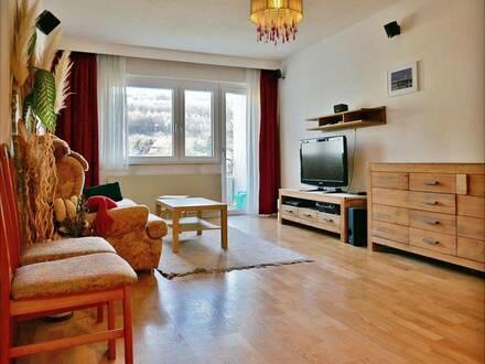 3-Zimmer-Miete mit Loggia und Garagenplatz im Zentrum