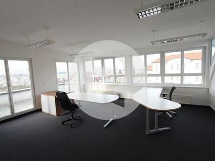 8071 Hausmannstätten: Exklusives traumhaftes Penthouse-Büro mit zwei Dachterrassen!