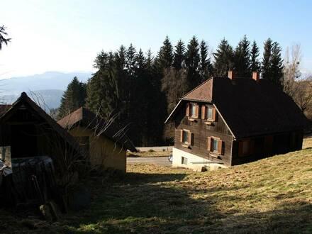 Entzückendes renovierungsbedürftiges Holzhaus in Ruhelage (2324)