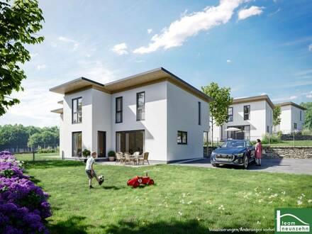 Living NATUR Pur- Doppelhaus mit unglaublichen Blick über die Umgebung in toller Siedlungslage