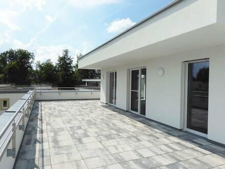 """4-Zimmer Neubau-Penthouse in Oberndorf """"Erstbezug – Open Air Wohngenuss!"""""""