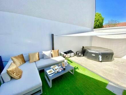 EIGENHEIM - EXQUISITEReihenhaus-STYLE3-Zimmer-Wohnung mit herrliche Terrasse in Bestlage & Grünruhelage - Nähe Neusie…