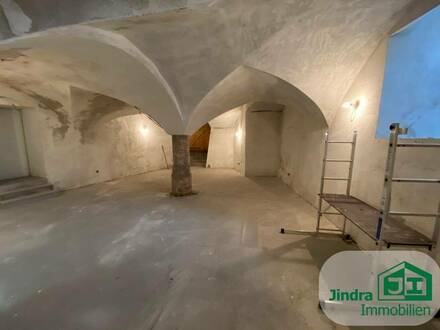 Betriebsräumlichkeiten im Untergeschoss eines Altstadthauses!