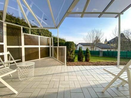 Zur Miete: Familienhaus mit Garten in Thalheim!