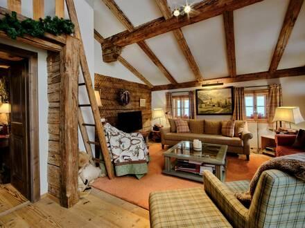 Alpine Dachgeschosswohnug im Krämerhaus