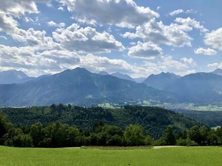 Sonniger Terrassentraum am Dünserberg
