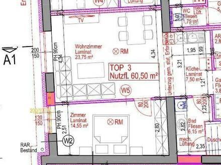 7131 Halbturn - 2-Zimmer Wohnung Erstbezug nach Generalsanierung