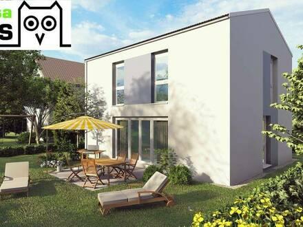 Provisionsfrei: Wohntraum Einfamilienhaus mit 101m² Wohnfläche, 54m² Keller, Terrasse und Eigengrund samt Parkplatz.