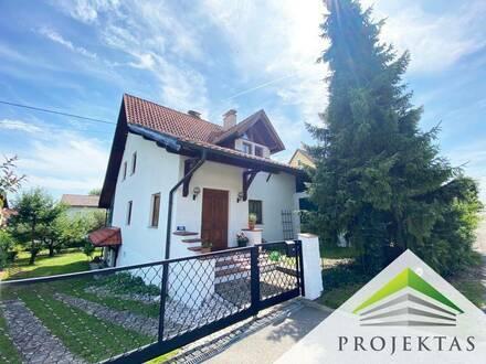 Linz-Leonding: Idyllisches Einfamilienhaus mit wunderschönem Garten in ruhiger Grünlage